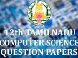 12th-Computer-Science-Question-Papers