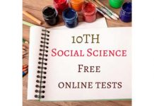 10th-Social-Science-Free-online-tests