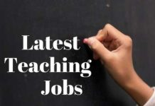 Latest Teaching Jobs