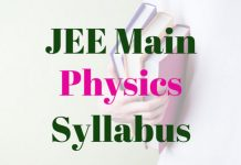 JEE-Main-Physics-Syllabus