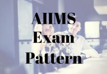 AIIMS Exam Pattern