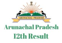 Arunachal-Pradesh-12th-Result