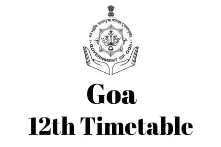 Goa-12th-Timetable