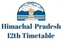 Himachal-Pradesh-12th-Timetable