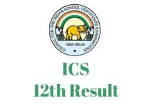 ISC-12th-Result