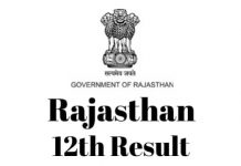 Rajasthan-12th-Result
