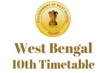 West-Bengal-10th-Timetable