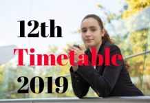 12th-Timetable-2019