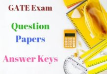 GATE-Exam-Question-Papers-Answer-Keys