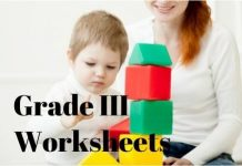 Grade III Worksheet