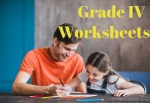 Grade IV Worksheet